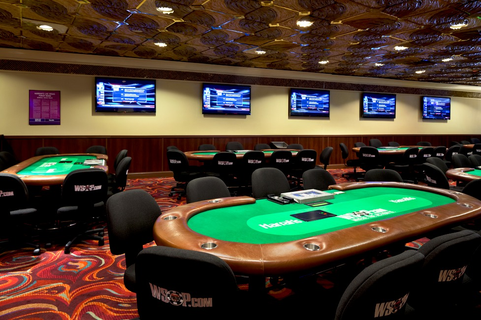 WSOP gaming tables