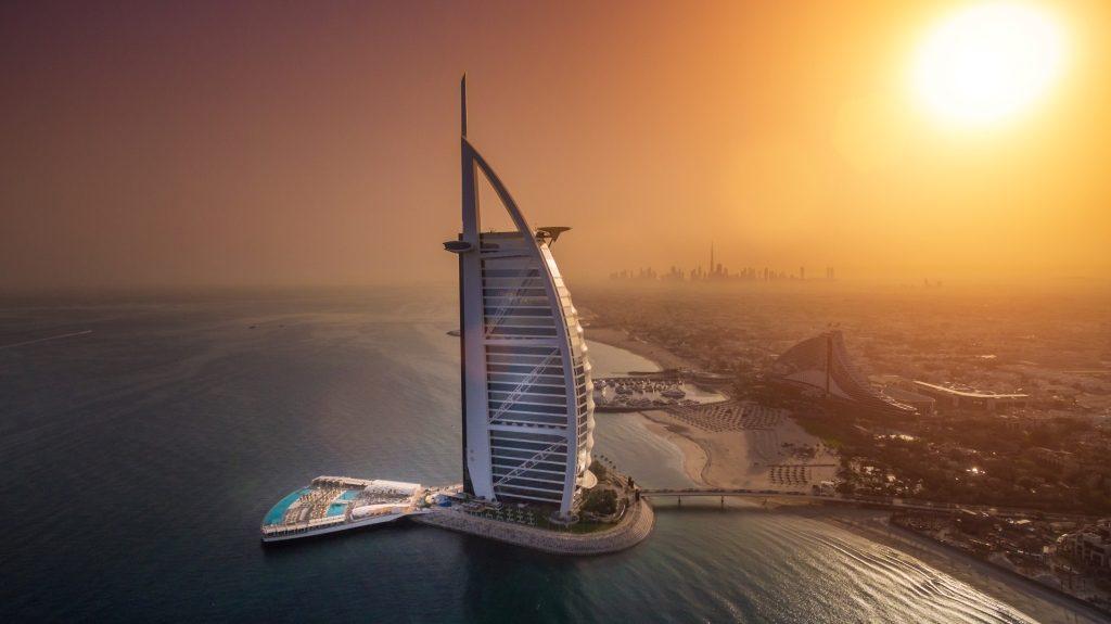 Vegetarian Dubai - Burj Al Arab