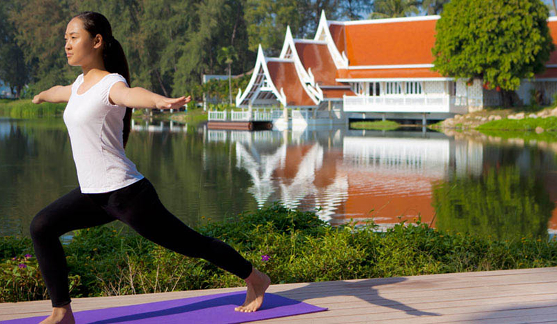 Making gains in Phuket at one of the country's best fitness resorts.