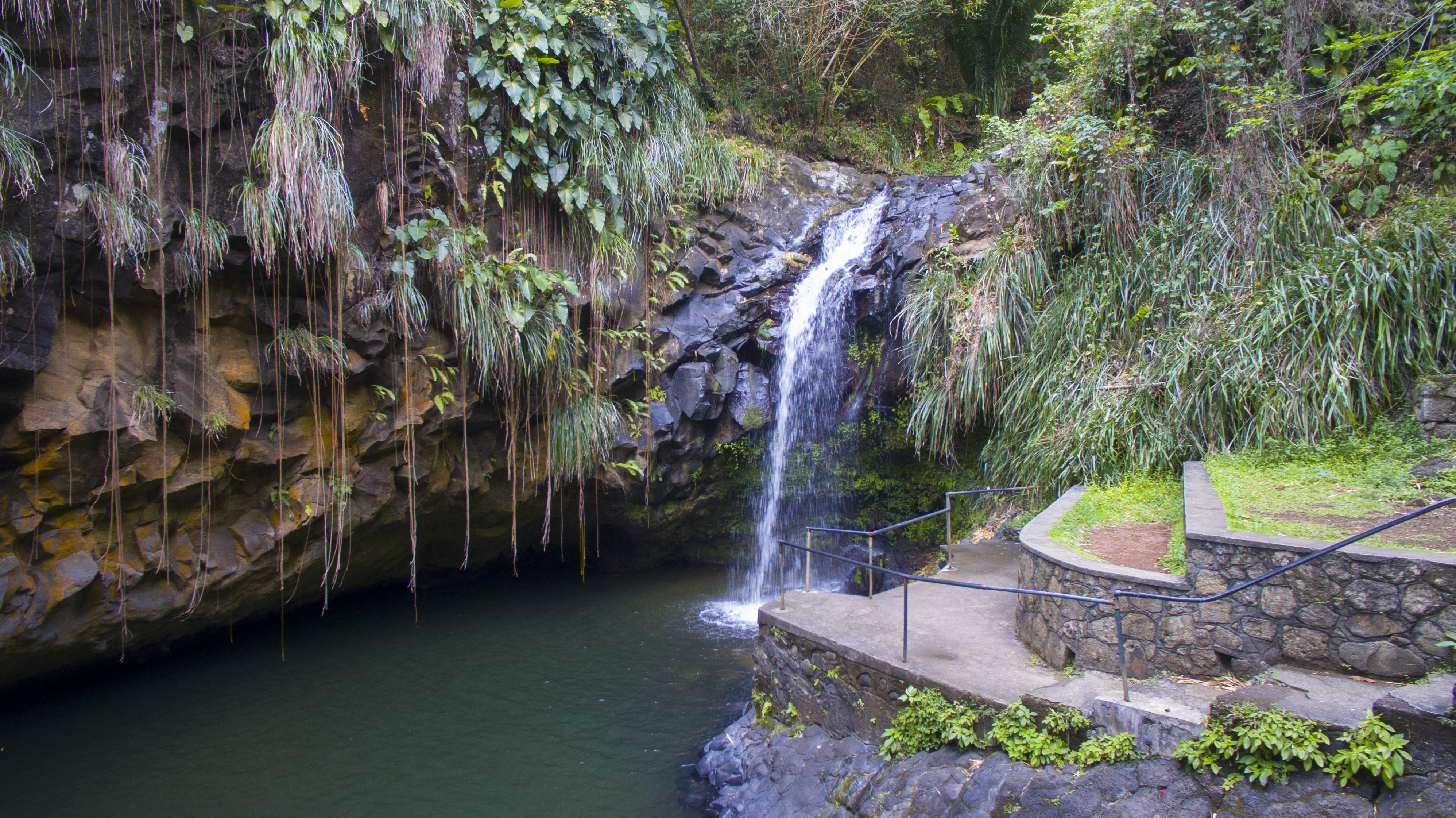 Annandale Waterfall view, Grenada