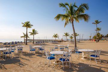 Beach restaurant in Florida