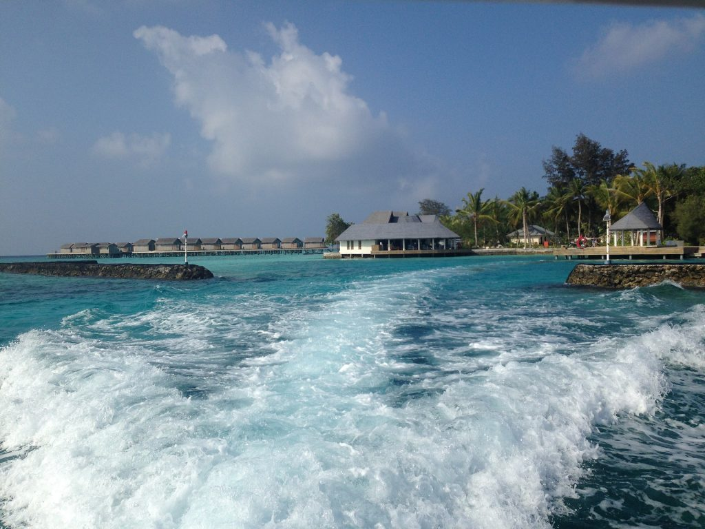 Boat trip in the Maldives