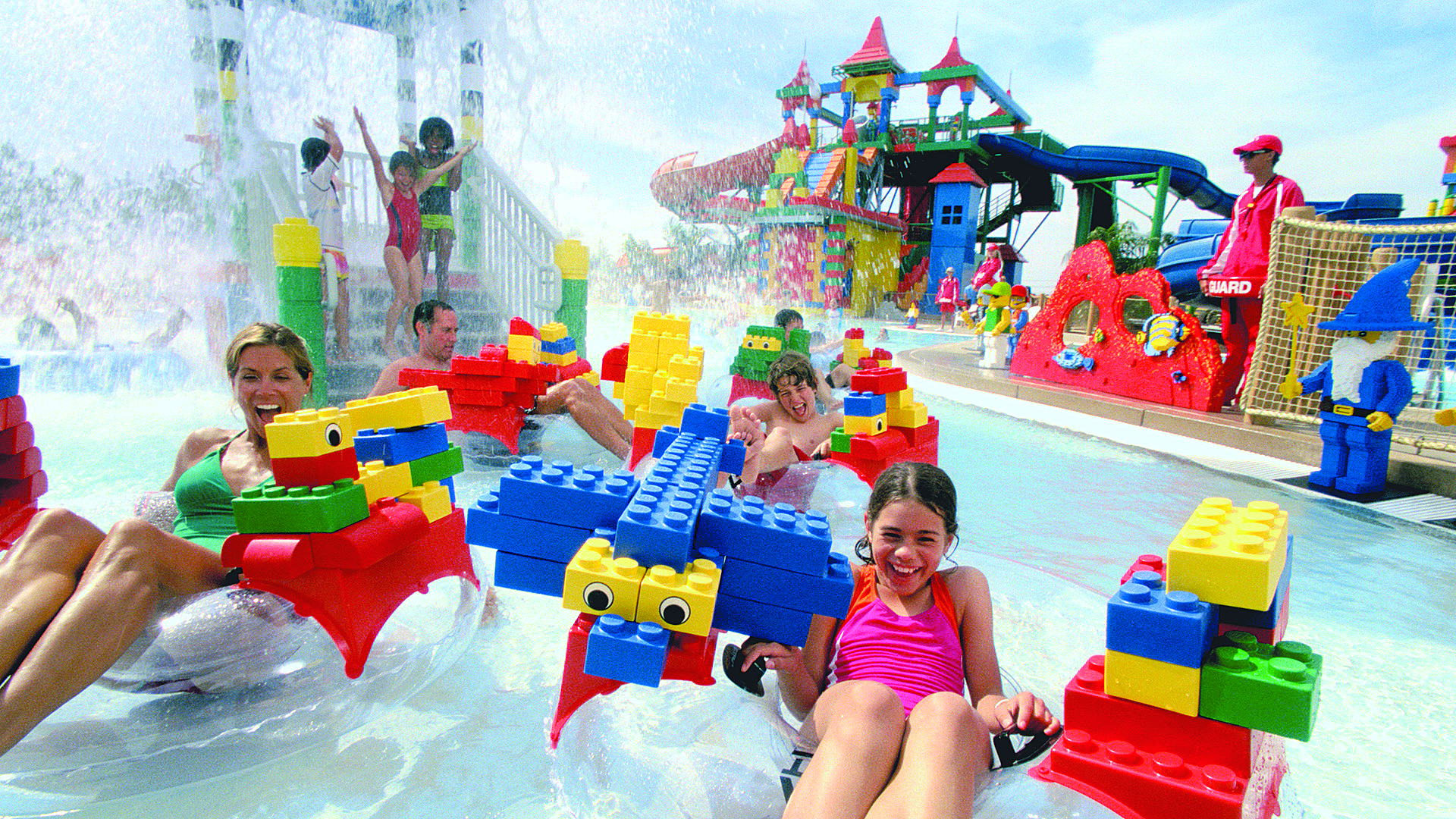 Build your own river raft at Legoland, Dubai Parks and Resorts
