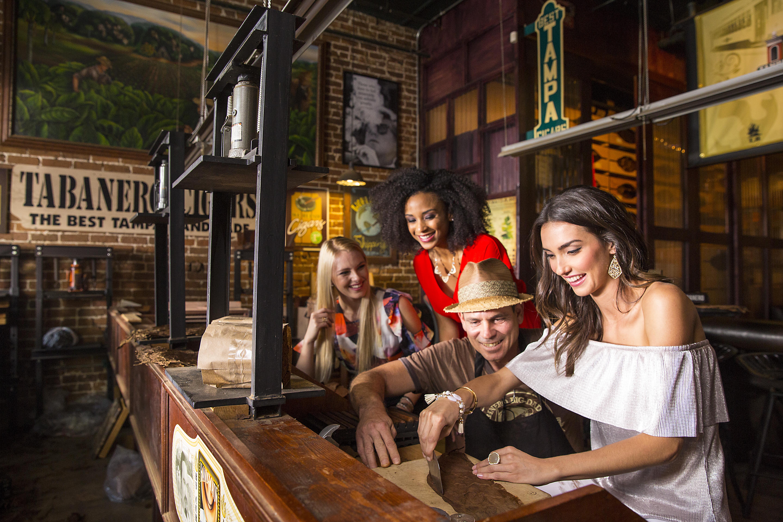 Cigar rolling in historic Ebor City, Tampa