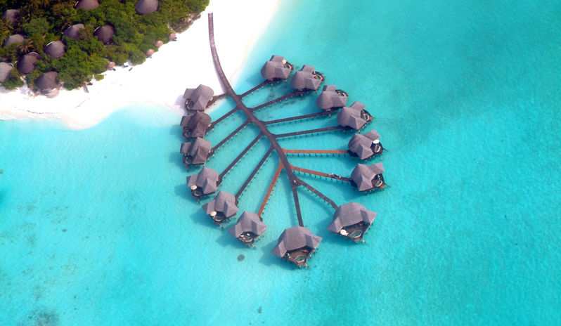 Maldives villa resort