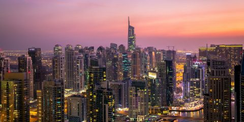 Dubai at Dusk