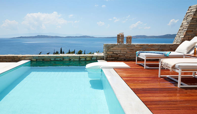Holiday villas in Halkidiki with Kenwood Travel.