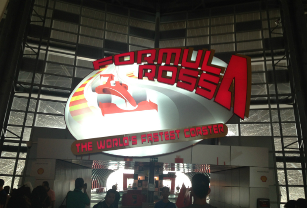 Formula Rossa Ferrari World