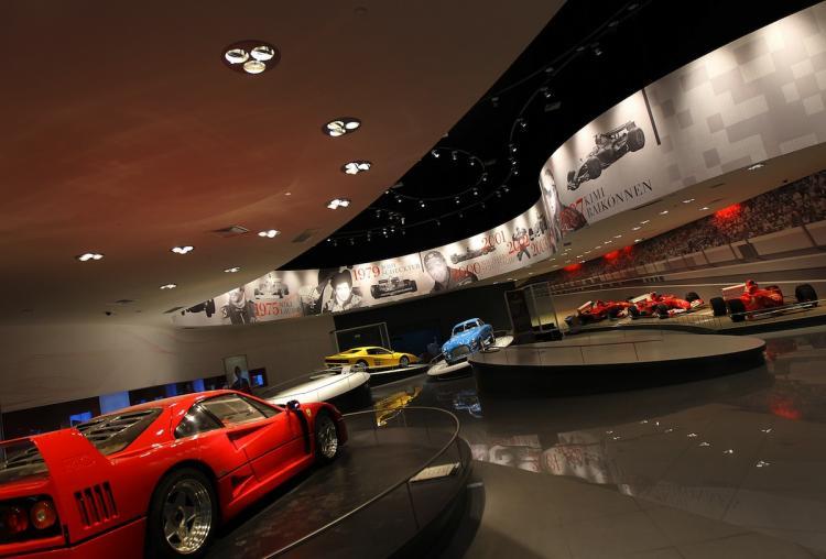 Galleria Ferrari - Kenwood Travel Blog