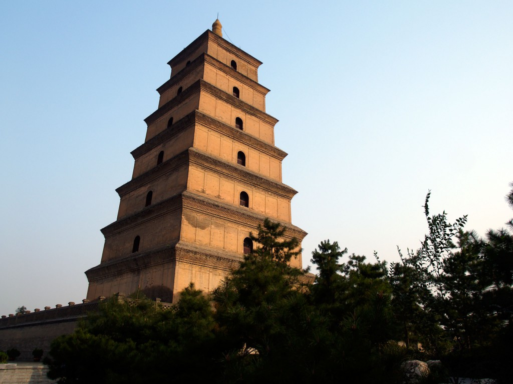 Tour of China on Kenwood Travel - Giant Wild Goose Pagoda