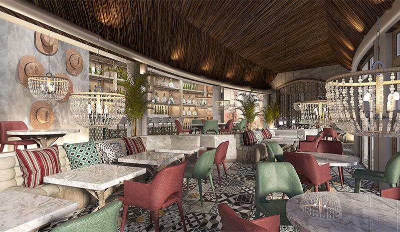 Inti restaurant, LUX* Graend Gaube Mauritius.