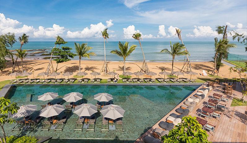 The beach at La Vela Khao Lak