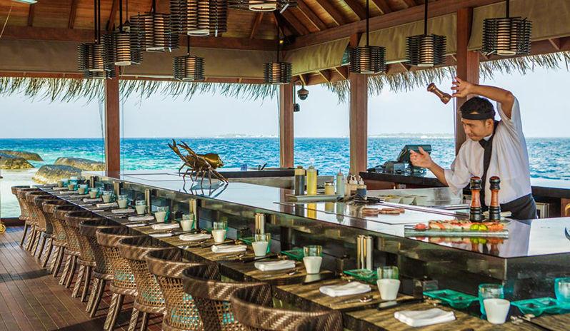 Thila restaurant, Maldives