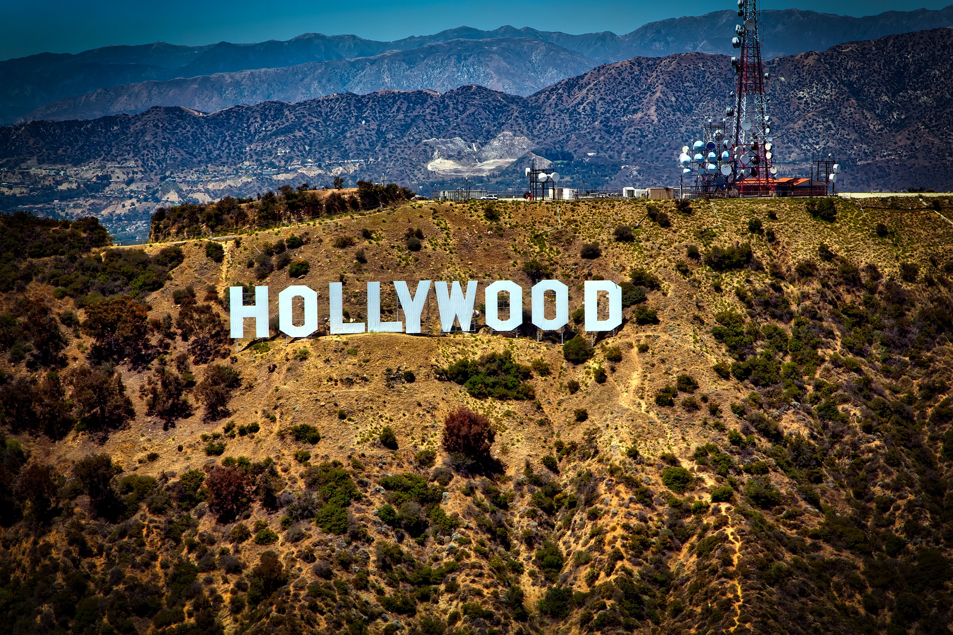 The Hollywood sign, Los Angeles
