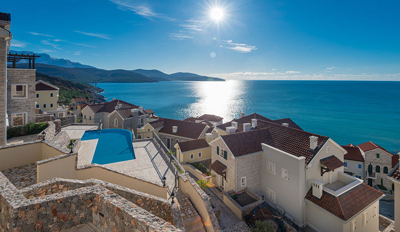 Glistening views of the Adriatic from Chedi Lustica Bay