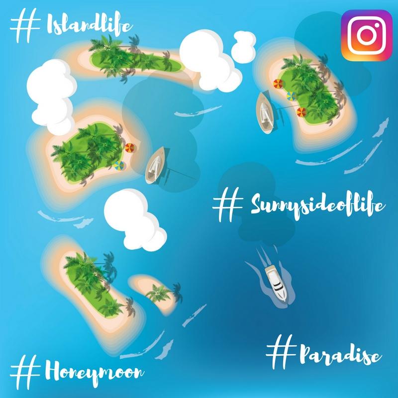 Maldives hashtags
