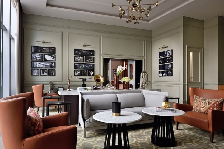Music Room - The Restaurant at Address Boulevard