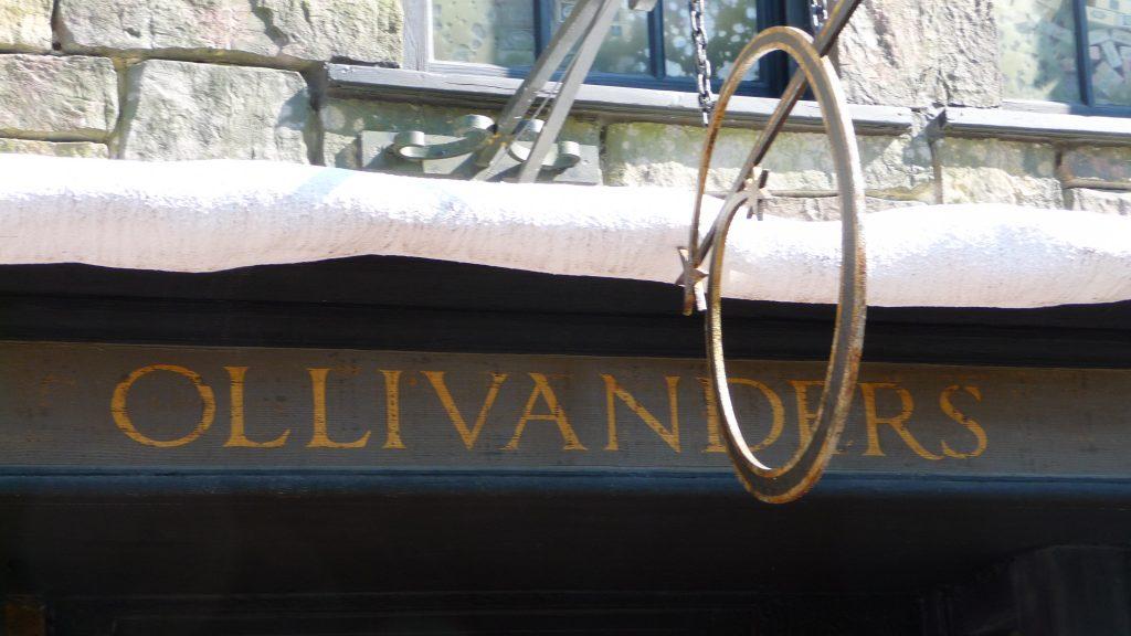Olivanders wand shop