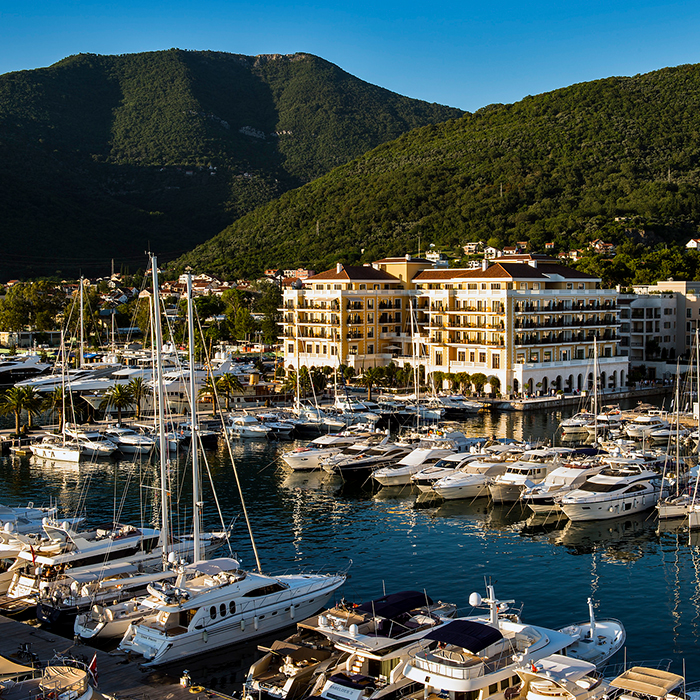 Porto Montenegro has become a playground of the rich and famous in recent years.