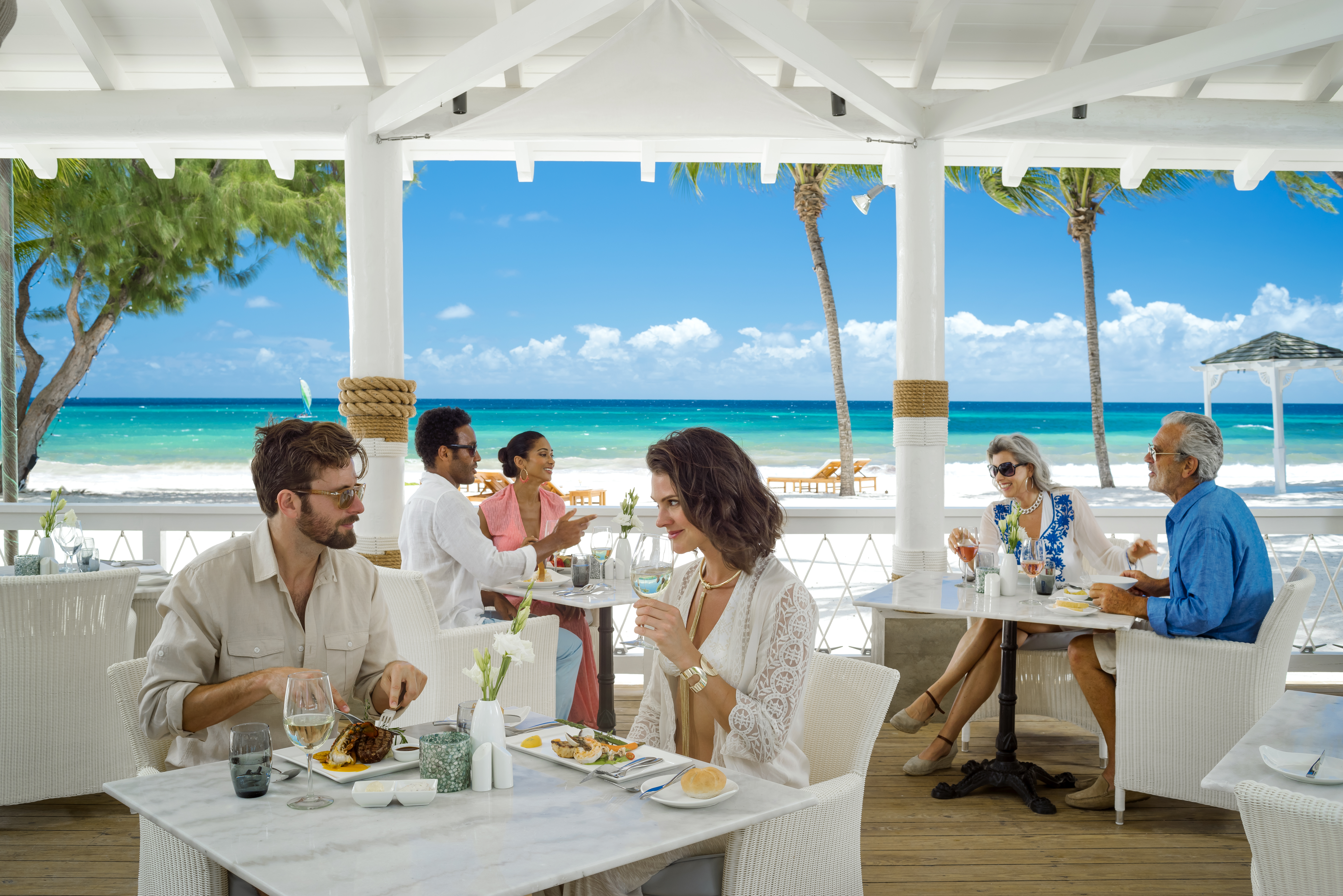 All Inclusive dining at Schooners