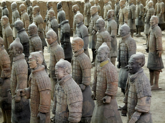 Terracota Warriors China
