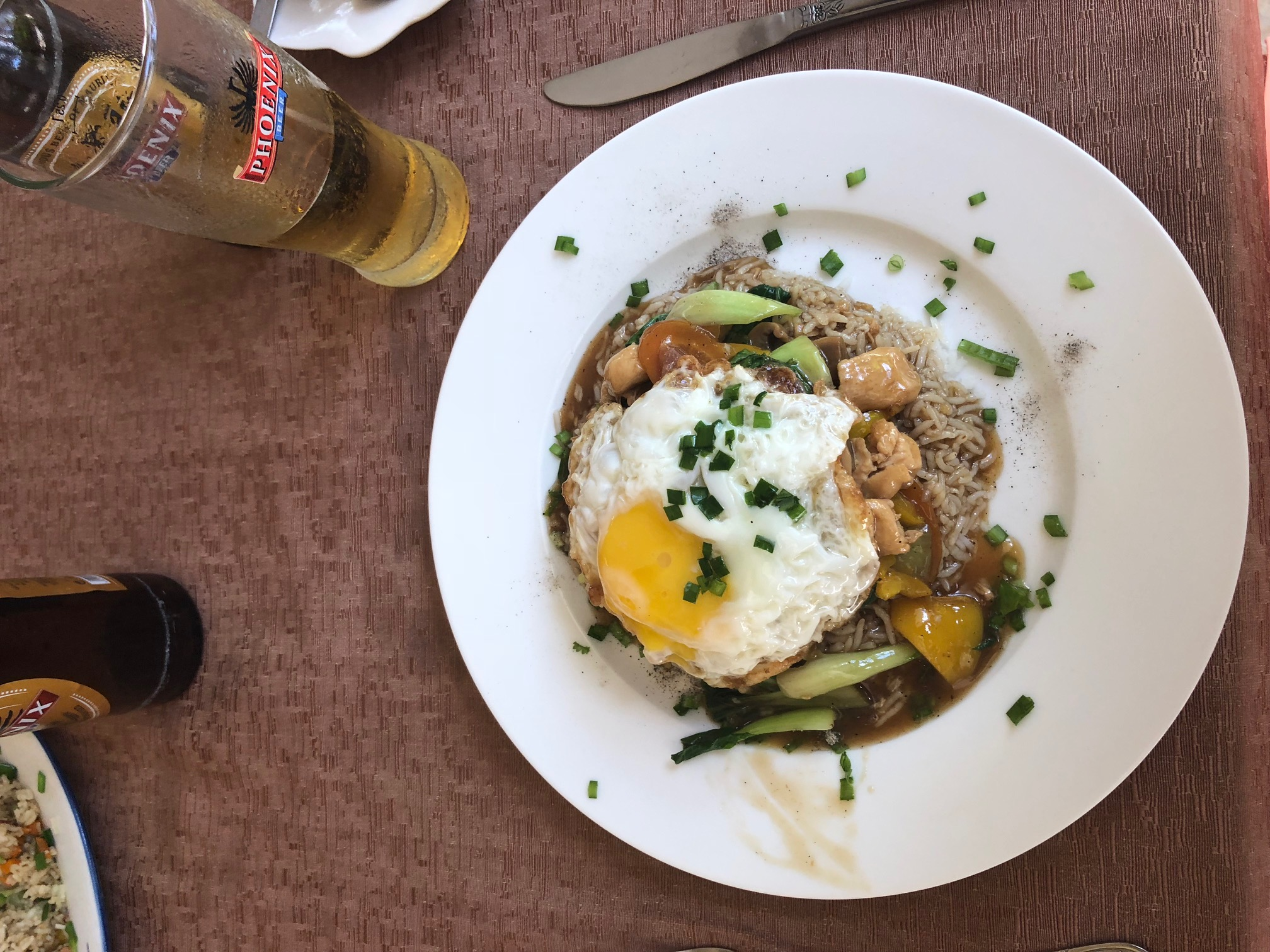 Local street food in Mauritius