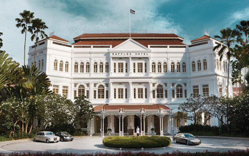 Afternoon Tea: Raffles Hotel Singapore