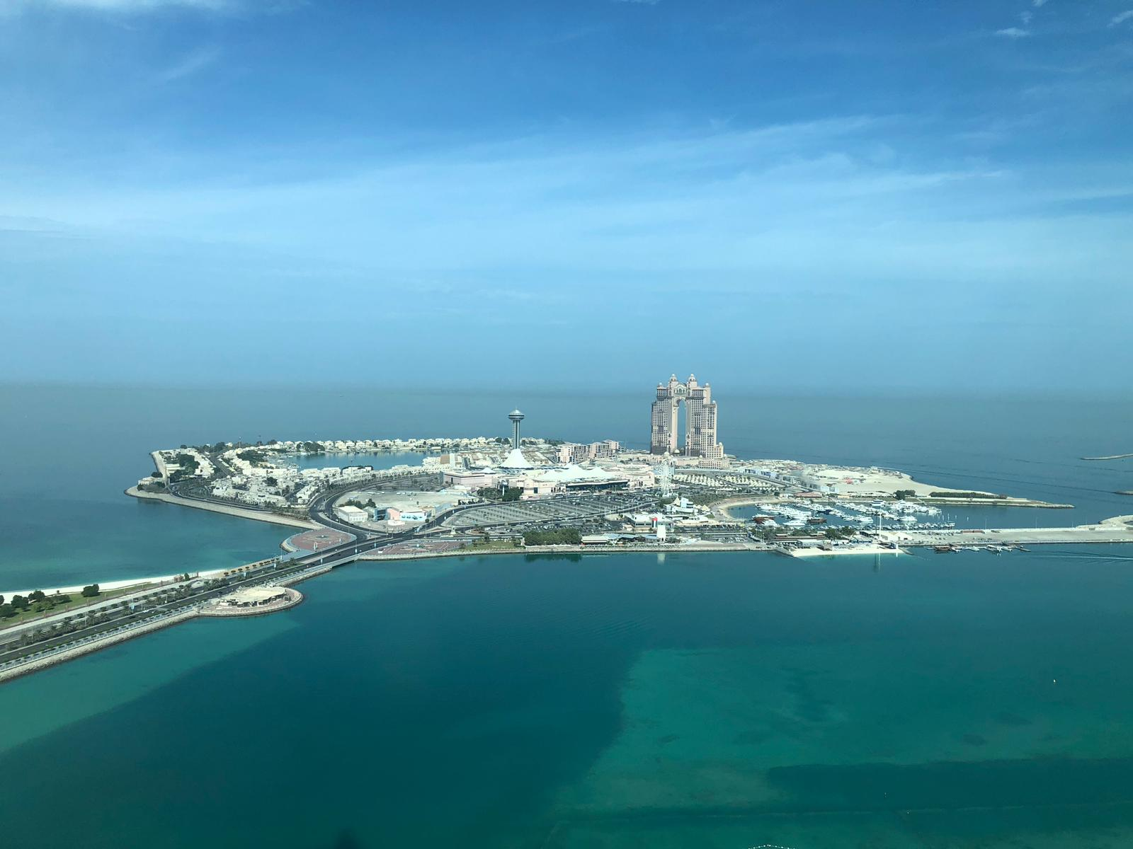 View from St. Regis Abu Dhabi