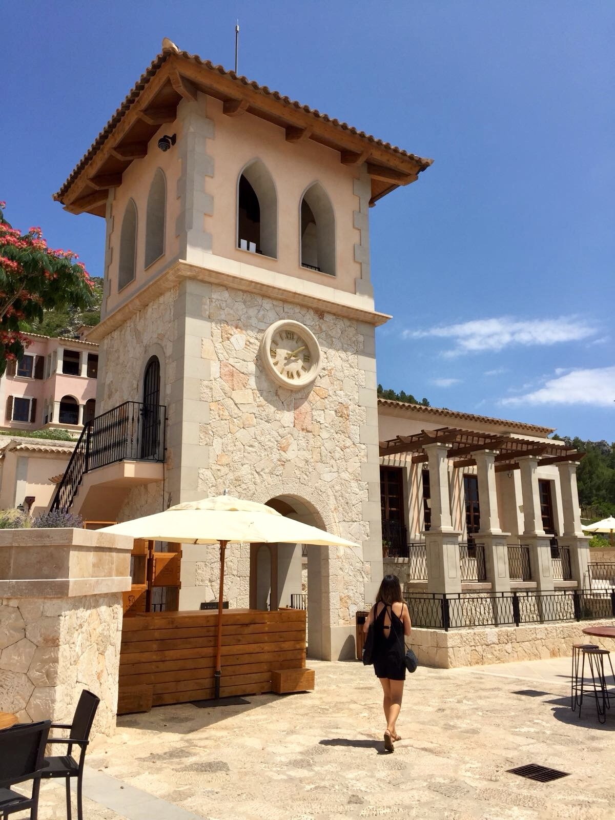 The tower at Park Hyatt Mallorca