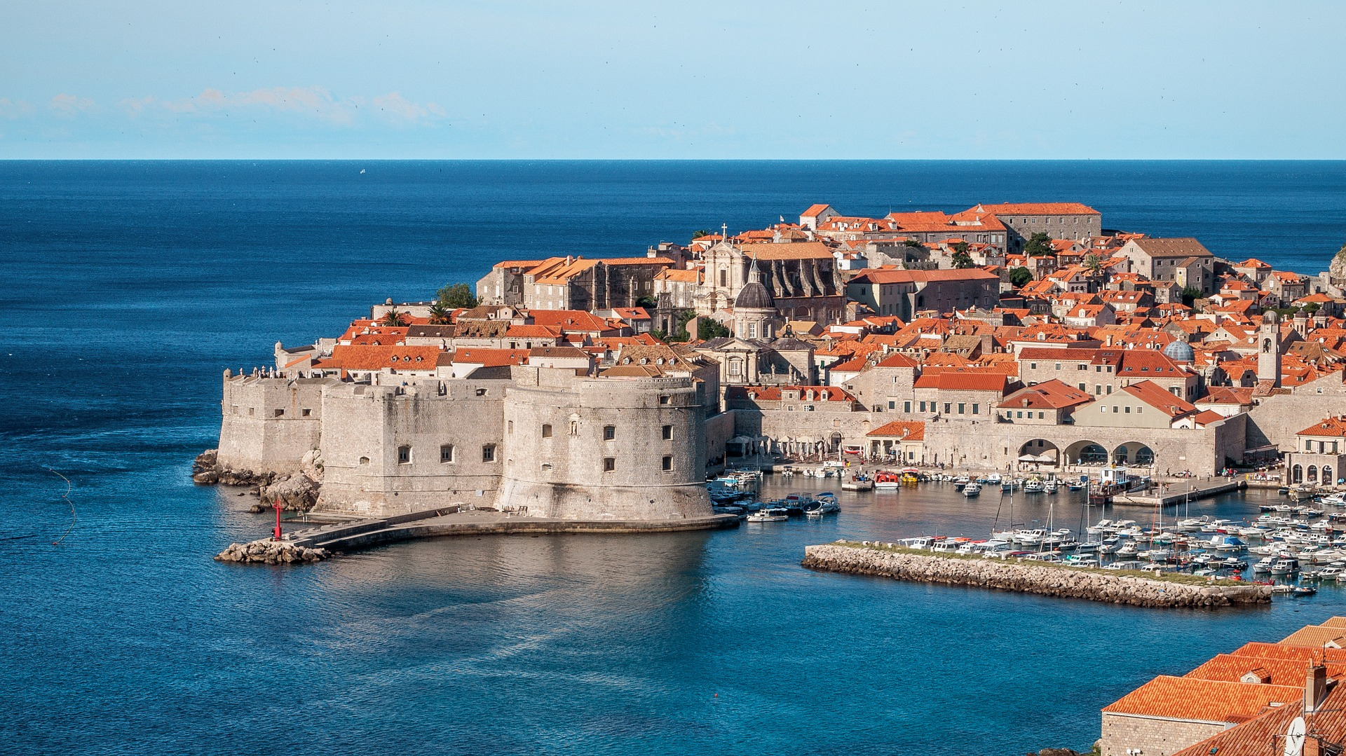 Overview of Dubrovnik
