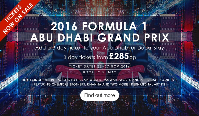 Abu Dhabi Grand Prix and Ferrari World