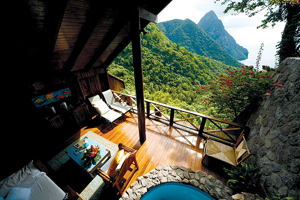 Ladera Resort Gros Piton Suite