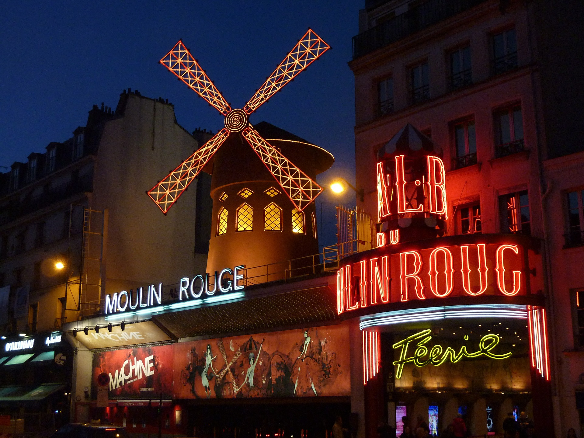An adult only holiday to Paris and the Moulin Rouge