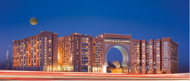 Exterior of the Ibn Battuta Gate Hotel, Dubai