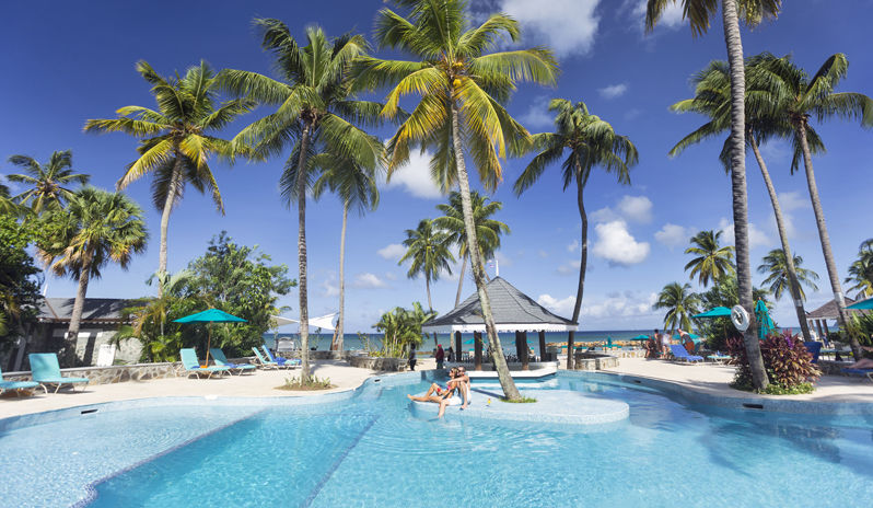 Your rendezvous with poolside luxury awaits in St. Lucia