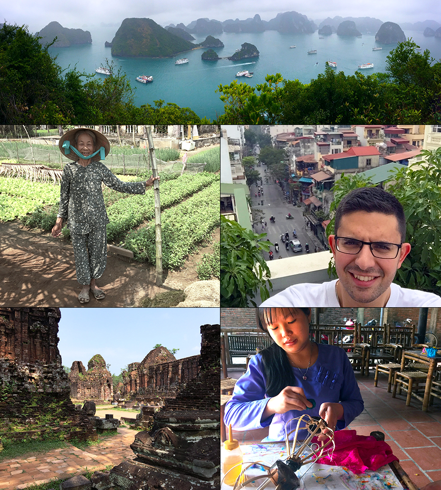 Vietnam photo collage