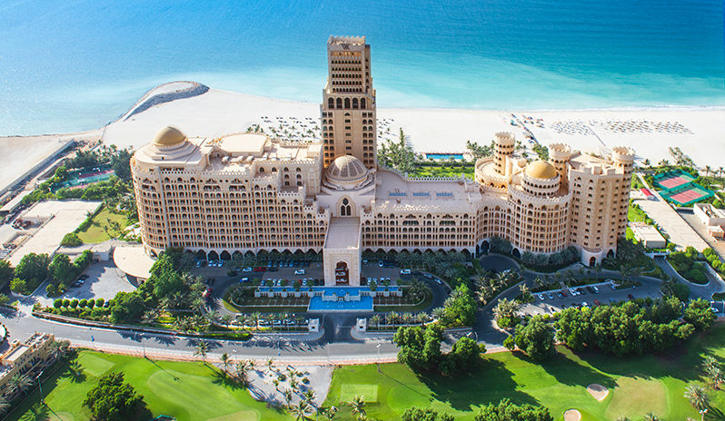Talk about the WOW factor! Waldorf Astoria Ras Al Khaimah