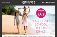 Exclusive School Holiday Deals