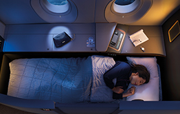 Malaysia Airlines Ample First Class