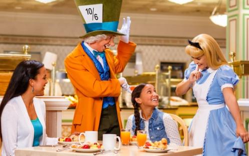 Character Dining at 1900 Park Fare