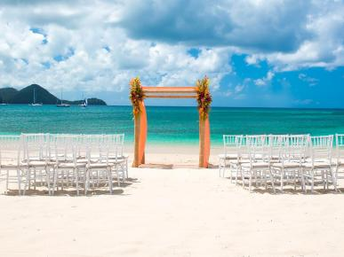 Weddings at Sandals Grande St Lucian