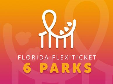 Florida FlexiTicket - 6 Park